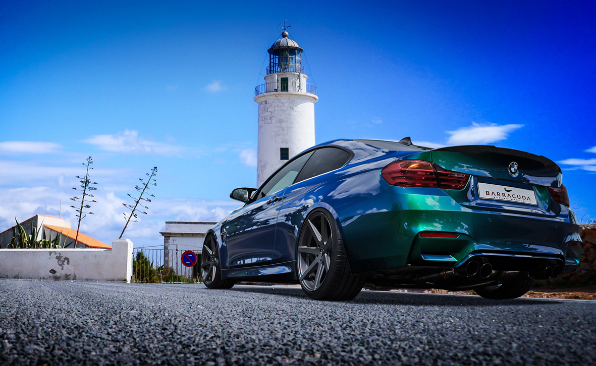 Bmw M4 Infected With 20 Inch Virus Rim The Garage And Mot Magazine