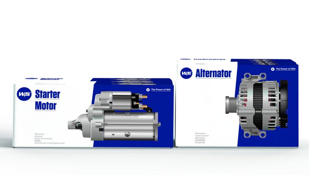 WAI Starter Motor